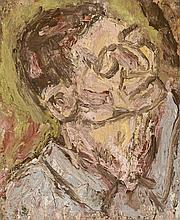 LEON KOSSOFF, born 1926, British, HEAD OF HEINZ I, 1997, oil on board