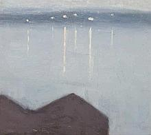 CLARICE BECKETT, (1887 – 1935), LIGHTS ACROSS THE BAY, c1931, oil on canvas