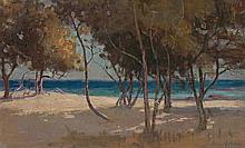 JOHN FORD PATERSON, (1851 – 1912), TI-TREE, BRIGHTON BEACH, 1895, oil on canvas