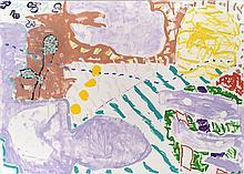 PATRICK HERON, (1920 - 1999, British), SYDNEY GARDEN PAINTING:  DECEMBER 1989 I, 1989, oil on canvas