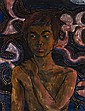 DONALD FRIEND - BALINESE BOY, c1976