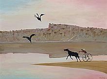 ARTHUR BOYD, 1920 – 1999, THE SPIT, SHOALHAVEN, c.1976 - 77, oil on composition board