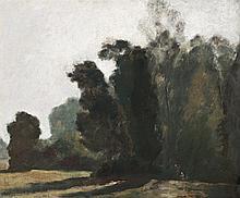 MAX MELDRUM, 1875 – 1955, LE PRES DE CHAMPAGNE, c.1910, oil on canvas