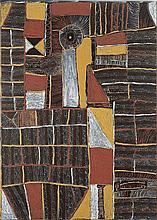 KUTUWULUMI PURAWARRUMPATU (KITTY KANTILLA), (c1928 - 2003), UNTITLED, 1998, natural earth pigments with synthetic binder on canvas