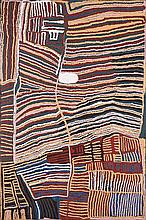 WEAVER JACK, (c1928 - 2010), UNTITLED, 2006, synthetic polymer paint on linen