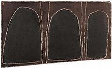 ROVER THOMAS (JOOLAMA), (c1926 - 1998), BARRAMUNDI DREAMING, 1984, natural earth pigments with bush gum on plywood