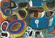 YATA GYPSY YADDA, (c1927 - 2000), UNTITLED, 1999, synthetic polymer paint on paper