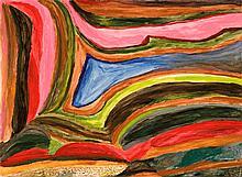JUKUNA MONA CHUGUNA, born c1933, PARRPARRA, 1994, synthetic polymer paint on Velin Arches paper