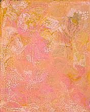 EMILY KAME KNGWARREYE, (c1910 - 1996), UNTITLED (ALALGURA I), 1992, synthetic polymer paint on linen
