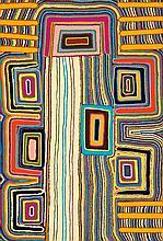 JOHN LEE TJAKAMARRA, born 1949, WALAWALA, 2002, synthetic polymer paint on canvas