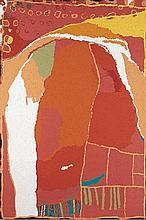 ALMA WEBOU, (c1928 - 2009), PINKALAKARA, 2006, synthetic polymer paint on linen