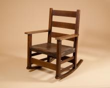 Oak Child's Rocking Chair - Stickley