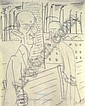 Max Ackermann (1887-1975): Altes Paar vor Indust