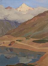 huile sur bois de Charles RAMBERT (1867-1932)