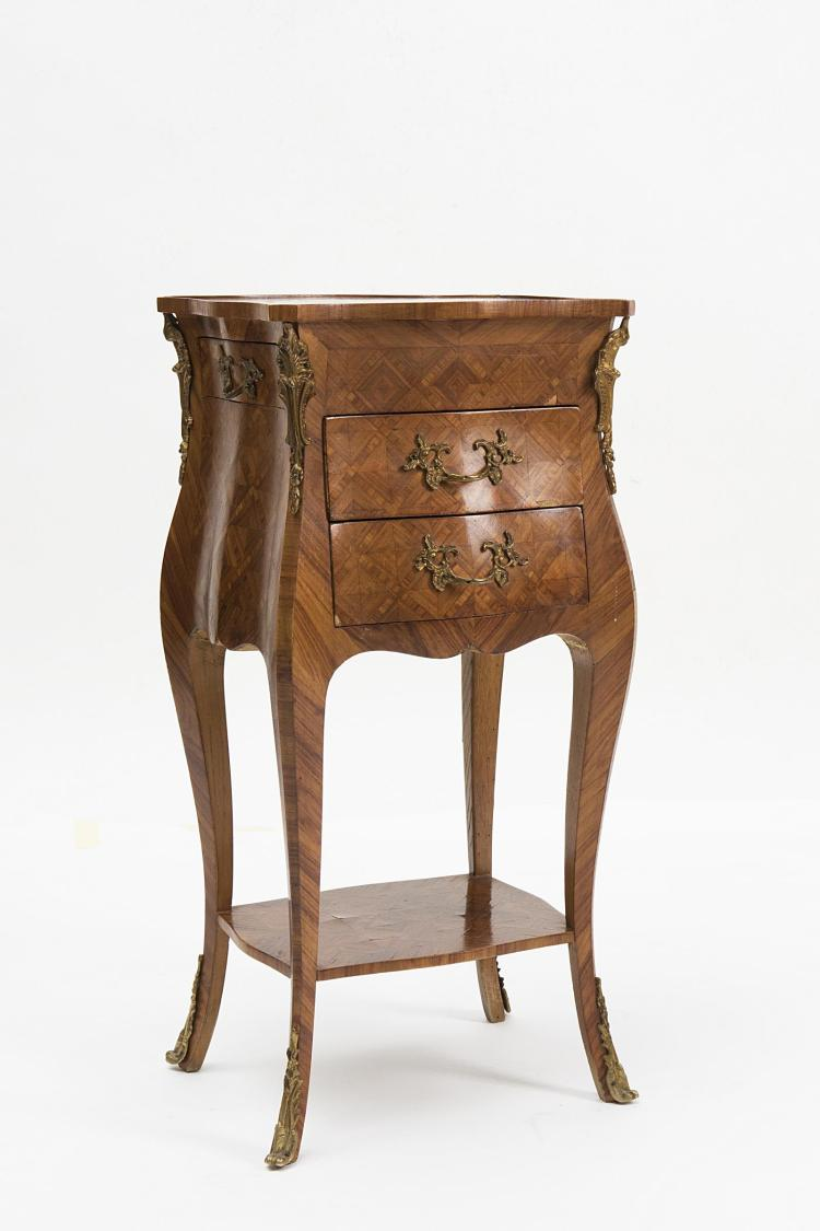 Meuble volant ou petit chevet de style louis xv by dogny auction - Meuble style louis xv ...