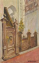 huile sur toile de Albert Kongsmar  (XX)