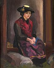 huile sur toile de Théobald Charles Henri WEISSENBACH (1891-1966, CH)