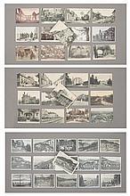 lot de cartes postales anciennes françaises comprenant :
