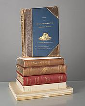 lot de livres de récits de voyages: