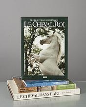 lot d'ouvrages équestres: