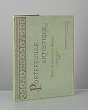 Boissonnas Fréd., Portefeuille artistique, prime du