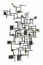 sculpture en fer soudé par ASR XXe