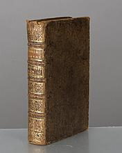 PRUDHOMME Claude, Le Nouveau Cuisinier Royal et Bourgeois: Tome troisième, Ed. De la Chambre Royale des Libraires & Imprimeurs de Paris, Paris, 1734, Couv. rigide et reliure ancienne, H. 17x10cm, 374 p.