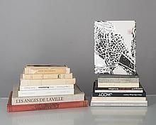 lot de livres de gravures, dessins et estampes de différents auteurs: