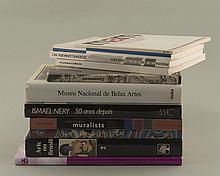 lot de livres d'art sud-américain comprenant :