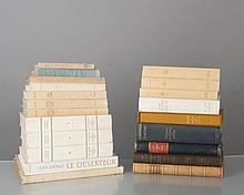 lot d'ouvrages de littérature étrangère: