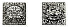 2 découpages carrés d'exception pour collectionneur averti de Ueli Hauswirth
