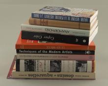 lot de livres d'art comprenant :