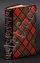 Tartanware binding. Tartans of the Clans and