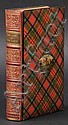 Tartanware binding. The Lady of the Lake, by Sir
