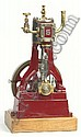 Stuart stationary engine. A well engineered model