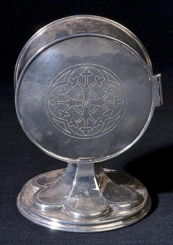* A 19th century pyx, unmarked, but probably by