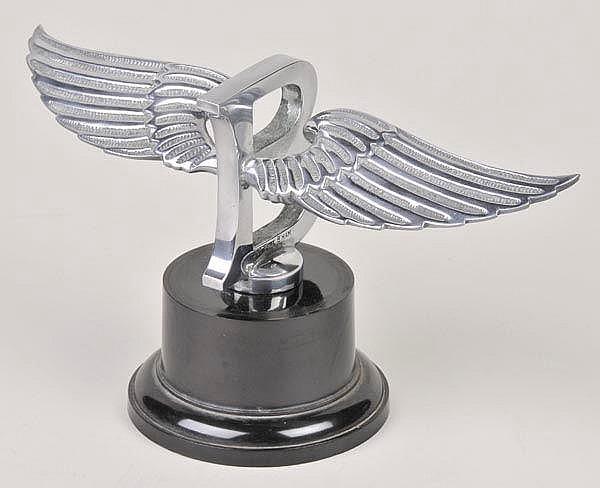 Bentley 8-litre Car Mascot. The distinctive winged