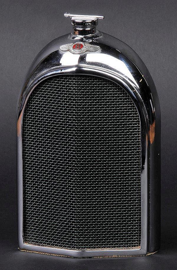 Bentley Decanter. A desk-piece table decanter by