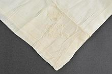*Victoria (Queen of Great Britain & Ireland, 1819-1901). Large handkerchief belonging to Queen Victoria,