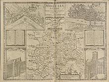 Middlesex. Speed (John), Midle-Sex described with the most Famous Cities of London and Westminster, published George Humble, circa 1627,