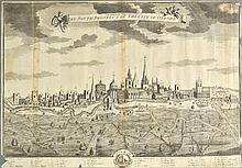 Oxford. Smith (John, publisher), Oxoniensis Universitas, The South Prospect of the City of Oxford, [1724],