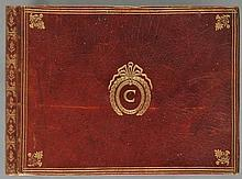 Music Manuscript. A French album of handwritten songs, late 18th or early 19th century,
