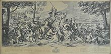 *Audran (Jean). La Vraye Valeur est Toujours Invincible, La Vertu Surmonte tout Obstacle, La Vertu Plaist quoy que Vaincue [and] La Vertu est Digne de L'Empire du Monde, published Paris, circa 1765,