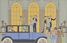 Barbier (Georges, 1882-1932, after). - Au Revoir & L'AprŠs Midi d'un Faune,