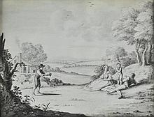 Nijmegen, (Gerard van, 1735-1808). - Neoclassical scenes,