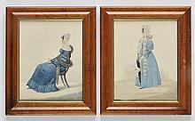 Dighton (Richard, 1796-1880). - Ladies of Cheltenham,