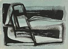 Lloyd (Reginald J., 1926-). - Blue Figures, 1962,