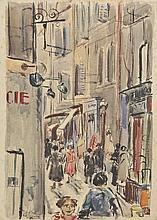 Hall (Clifford, 1904-1973). - Rue Caisserie, Marseille, circa 1936,