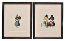 Attributed to Tingqua. - Peruvian types, circa 1840s,