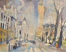 Vogel (Bernhard, 1961-). - Great St. George Street, with Big Ben, London,